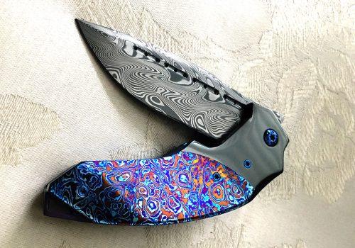 Kitchen Knives Rick Petko Damasteel 174