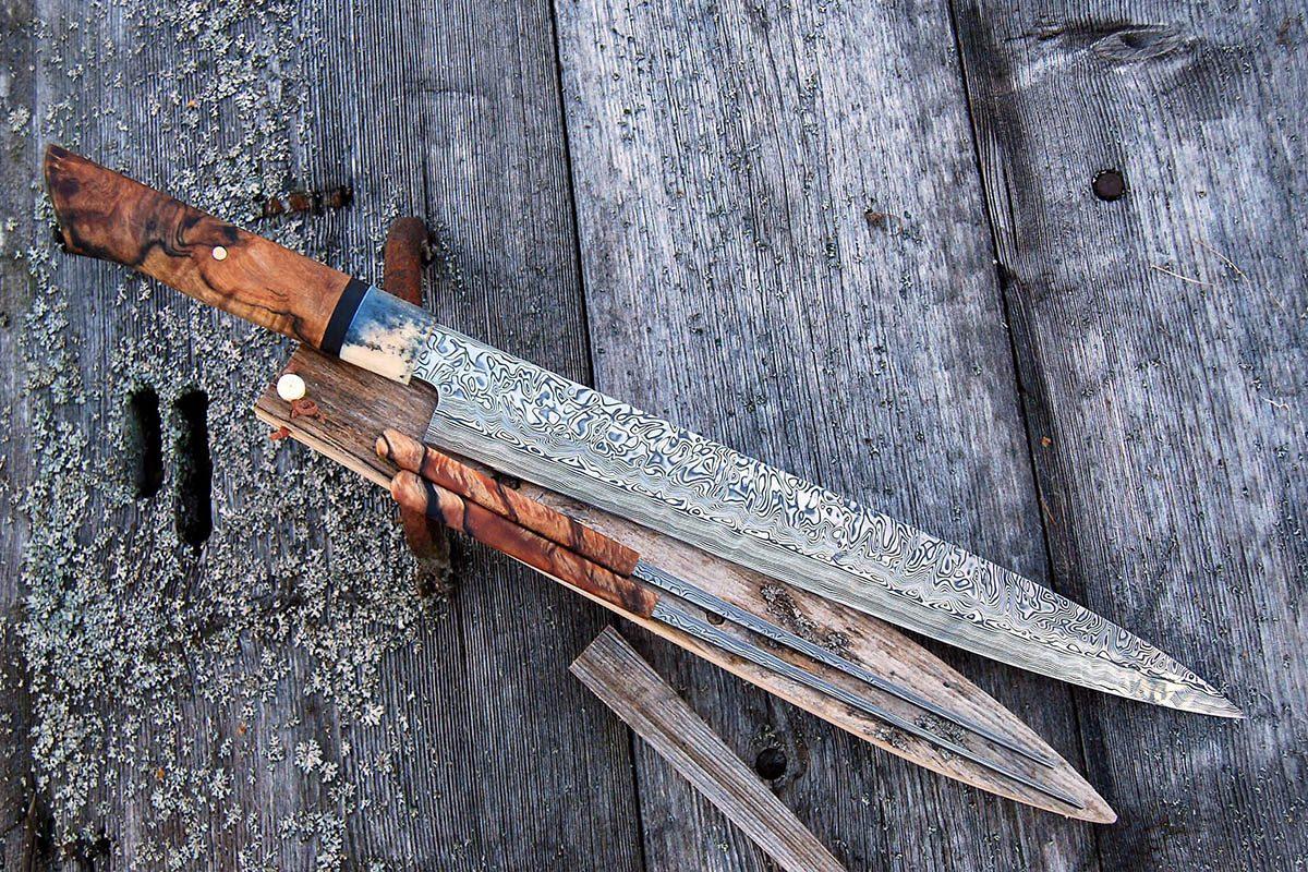 Kitchen knives Tobbe Lundström Damasteel®